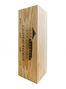 Château Talbot 2016 Original wooden case of one double magnum (1x300cl)