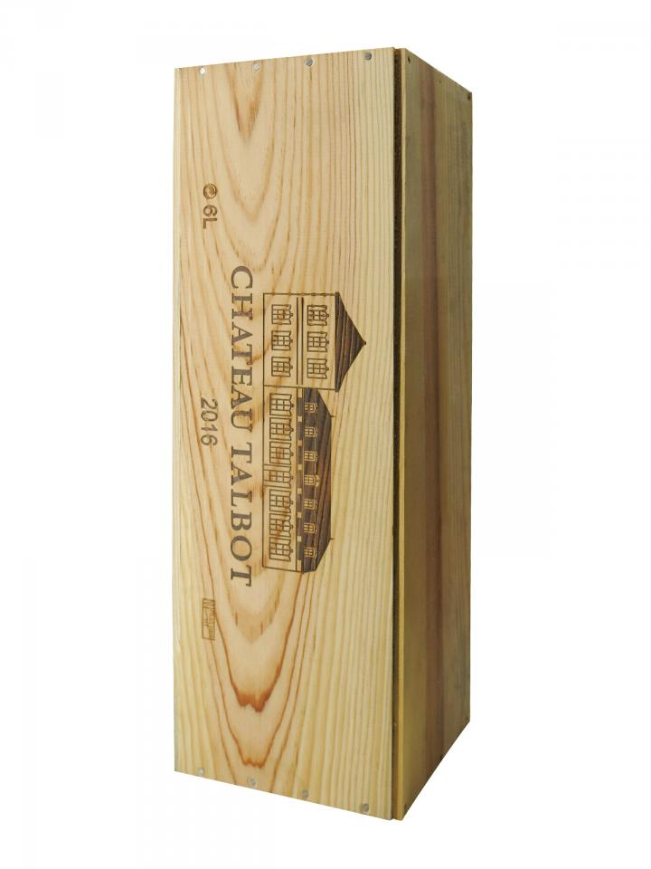 Château Talbot 2016 Original wooden case of one impériale (1x600cl)