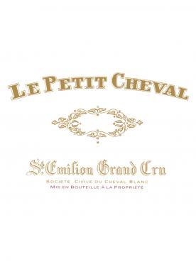 Le Petit Cheval 2008 Original wooden case of 12 half bottles (12x37.5cl)
