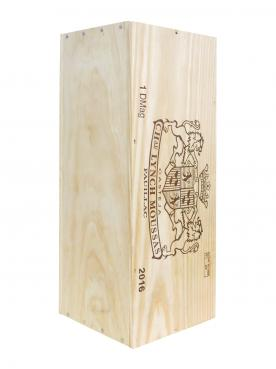 Château Lynch-Moussas 2016 Original wooden case of one double magnum (1x300cl)