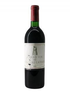 Château Latour 1967 Bottle (75cl)