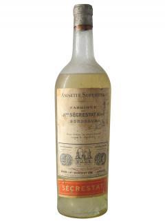 Anisette Superfine Maison J,-Hré Sécrestat Ainé Period 1930's Bottle (100cl)