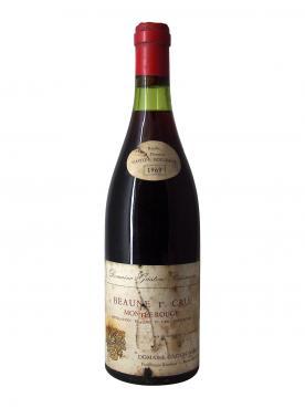 Beaune 1er Cru Montée Rouge Domaine Gaston Boisseaux 1969 Bottle (75cl)