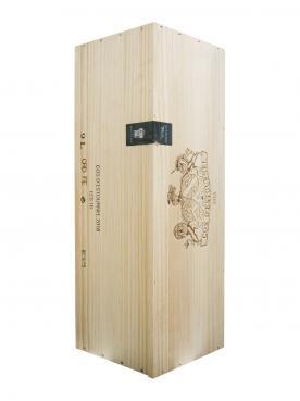 Château Cos d'Estournel 2016 Original wooden case of one salmanazar (1x900cl)