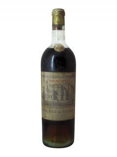 Château de Ricaud Vin de tête 1934 Bottle (75cl)