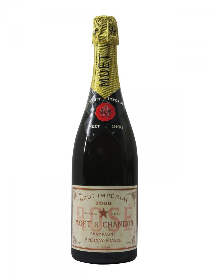 Champagne Moët & Chandon Brut Impérial Rosé Brut 1966 Bottle (75cl)