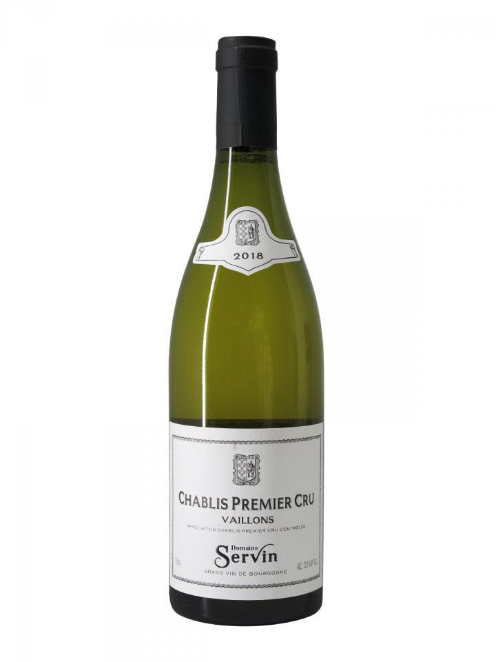 Chablis 1er Cru Vaillons Domaine Servin 2018 Bottle (75cl)