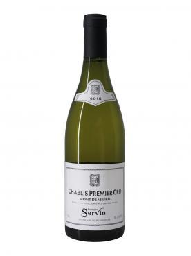 Chablis 1er Cru Mont de Milieu Domaine Servin 2018 Bottle (75cl)