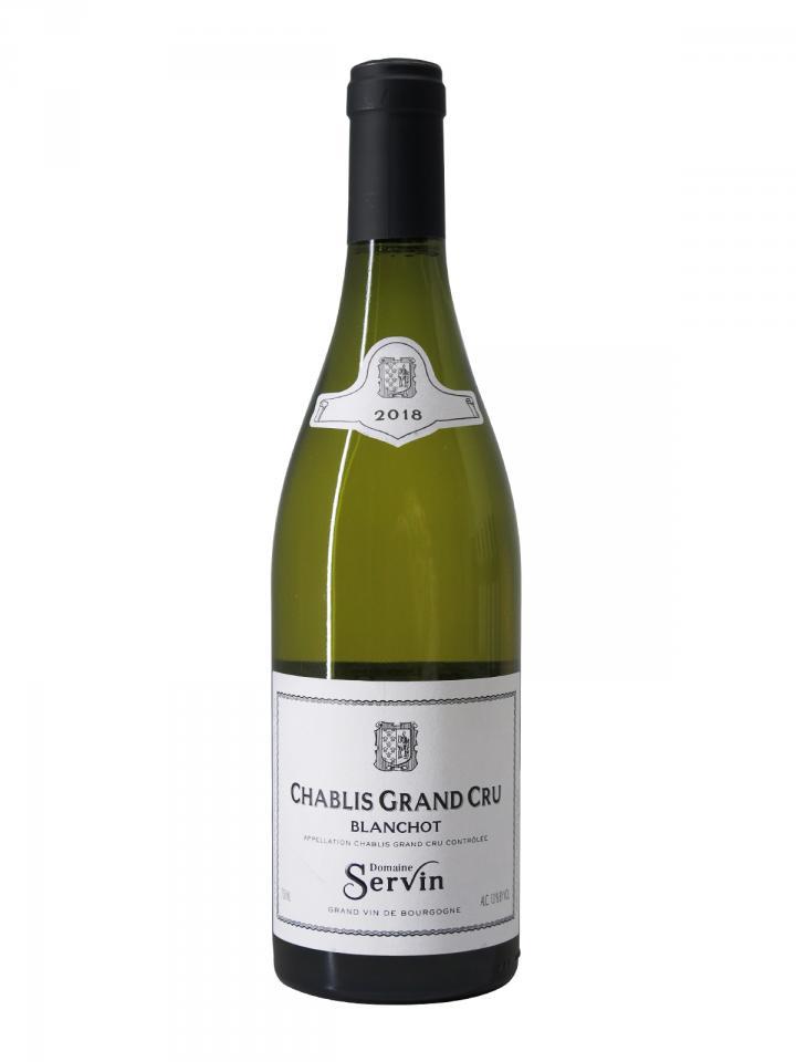 Chablis Grand Cru Les Blanchots Domaine Servin 2018 Bottle (75cl)