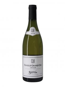 Chablis Grand Cru Les Clos Domaine Servin 2018 Bottle (75cl)