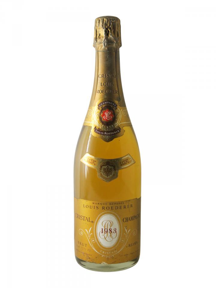 Champagne Louis Roederer Cristal Brut 1983 Bottle (75cl)