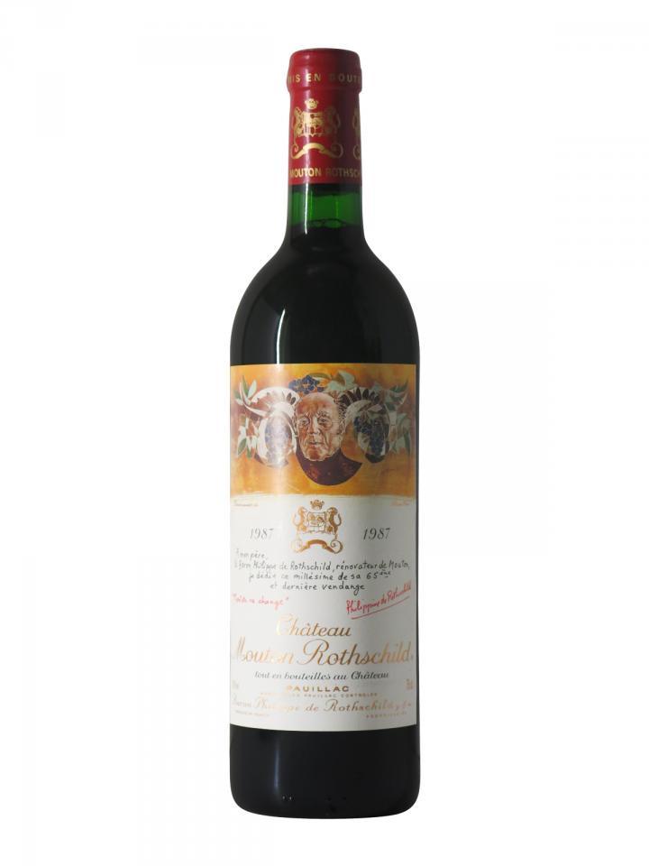 Château Mouton Rothschild 1987 Bottle (75cl)
