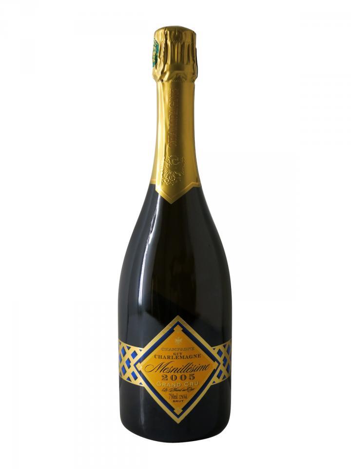 Champagne Guy Charlemagne Mesnillésime Grand Cru 2005 Bottle (75cl)