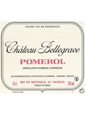 Chateau Bellegrave (Pomerol) 2019 Bottle (75cl)
