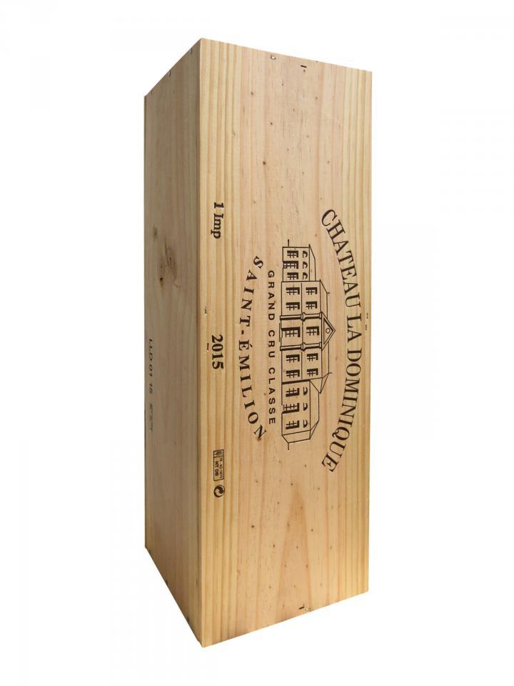 Château La Dominique 2015 Original wooden case of one impériale (1x600cl)