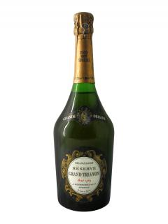 Champagne A. Rothschild Grand Trianon Brut 1969 Bottle (75cl)