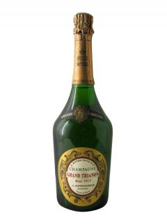 Champagne A. Rothschild Grand Trianon Brut 1975 Bottle (75cl)