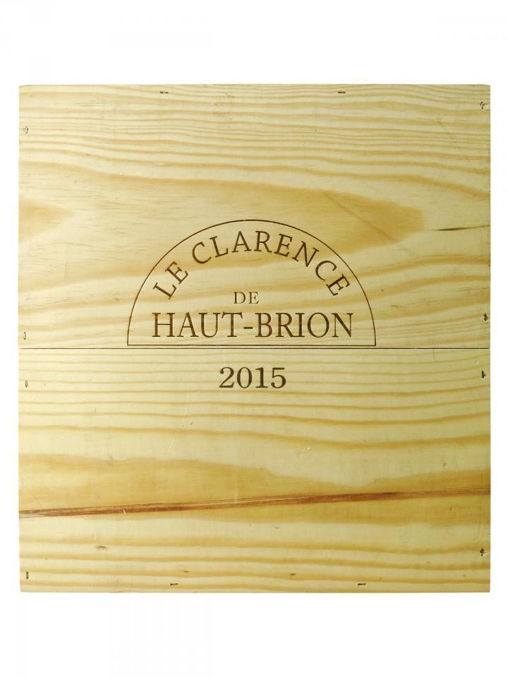 Le Clarence de Haut-Brion 2015 Original wooden case of 3 magnums (3x150cl)