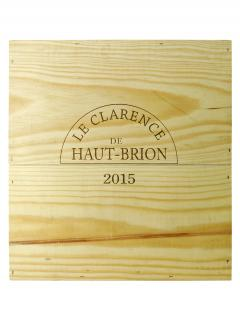 Le Clarence de Haut-Brion 2015 Original wooden case of 3 magnums (3x150cl)