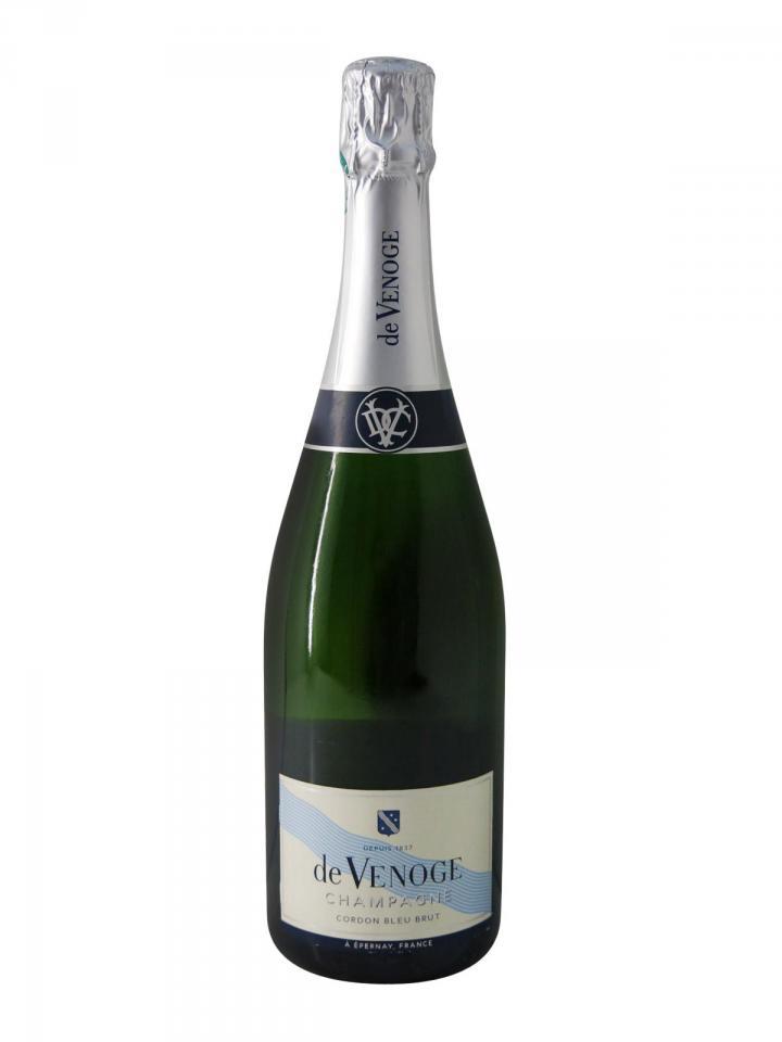 Champagne De Venoge Cordon Bleu Brut Non vintage Bottle (75cl)