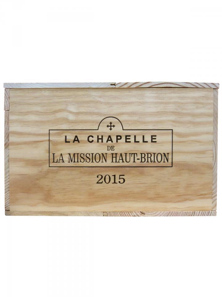 La Chapelle de la Mission Haut-Brion 2015 Original wooden case of 6 magnums (6x150cl)