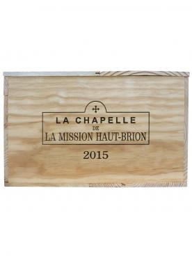 La Chapelle de la Mission Haut-Brion 2015 Original wooden case of 6 magnums (6x150cl)