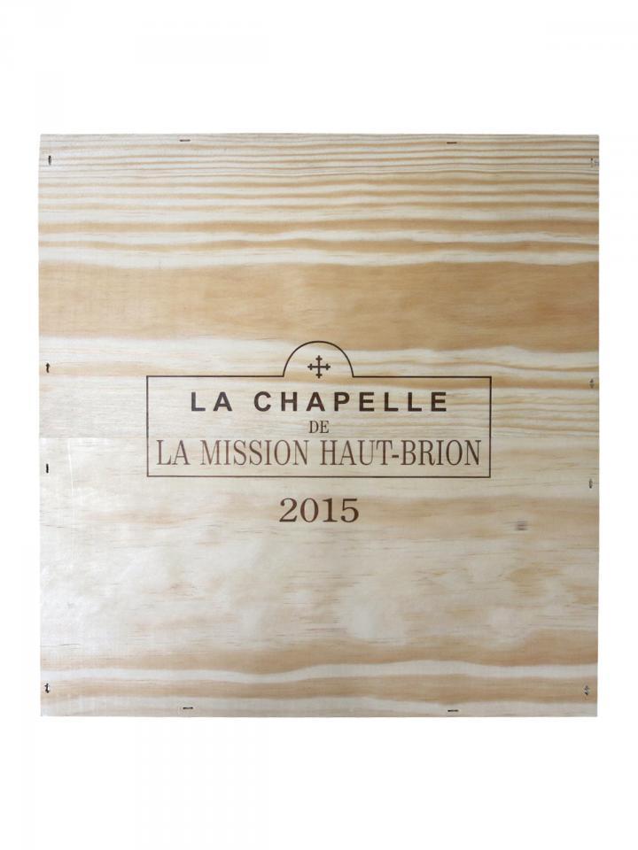 La Chapelle de la Mission Haut-Brion 2015 Original wooden case of 3 magnums (3x150cl)