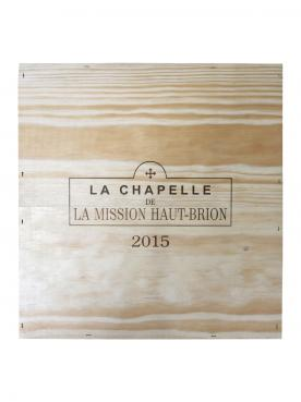 La Chapelle de la Mission Haut-Brion 2015 Original wooden case of 3 magnums (3x150cl)