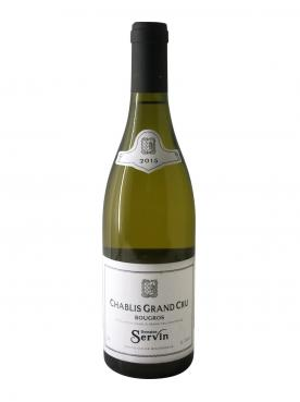 Chablis Grand Cru Bougros Domaine Servin 2015 Bottle (75cl)