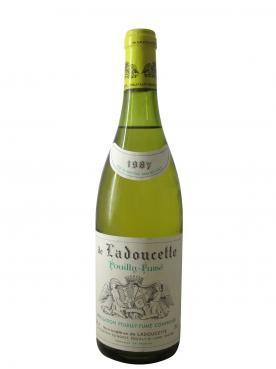 Pouilly fumé De Ladoucette 1987 Bottle (75cl)