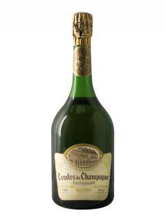 Champagne Taittinger Comtes de Champagne Blanc de Blancs Brut 1966 Bottle (75cl)