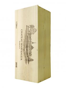 Château Marojallia 2015 Original wooden case of one double magnum (1x300cl)
