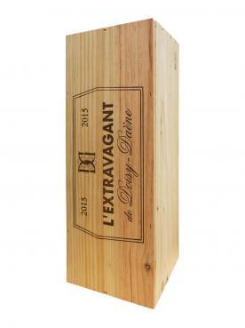 Château Doisy-Daëne L'Extravagant de Doisy-Daene 2015 Original wooden case of one double magnum (1x300cl)