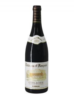 Cote-Rotie Domaine Guigal Château d'Ampuis 2001 Original wooden case of 12 bottles (12x75cl)