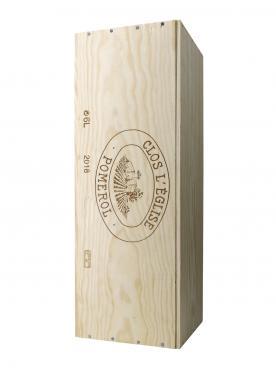 Clos l'Eglise 2018 Original wooden case of one impériale (1x600cl)