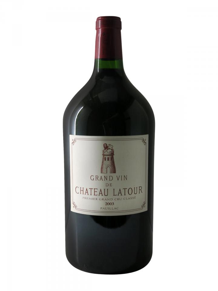 Château Latour 2003 Original wooden case of one double magnum (1x300cl)