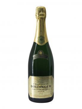 Champagne Bollinger La Grande Année Brut 1988 Bottle (75cl)