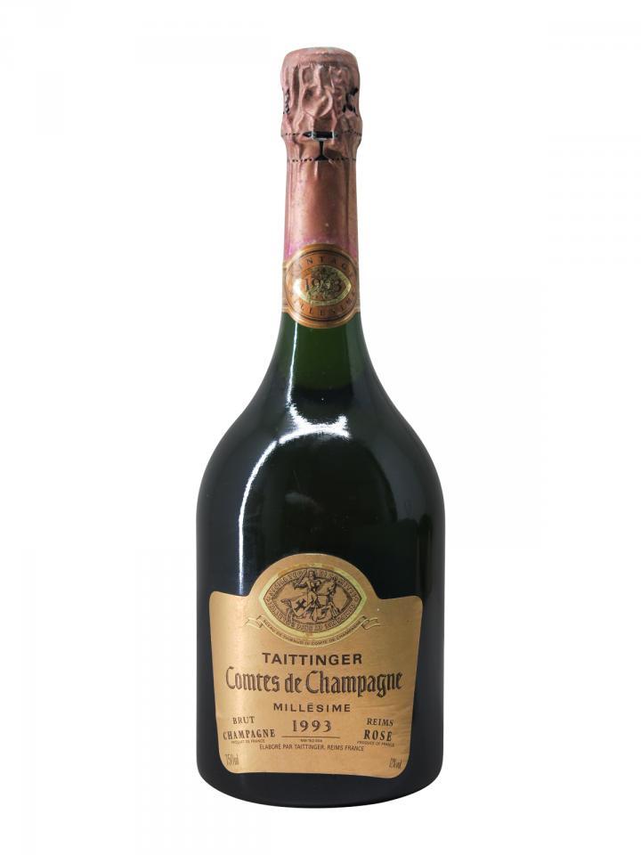 Champagne Taittinger Comtes de Champagne Rosé Brut 1993 Bottle (75cl)