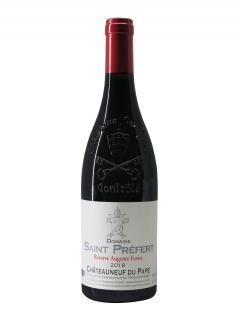 Chateauneuf-du-Pape Domaine Saint-Préfert Réserve Auguste Favier 2018 Bottle (75cl)