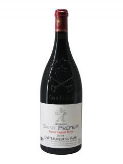 Chateauneuf-du-Pape Domaine Saint-Préfert Réserve Auguste Favier 2018 Magnum (150cl)