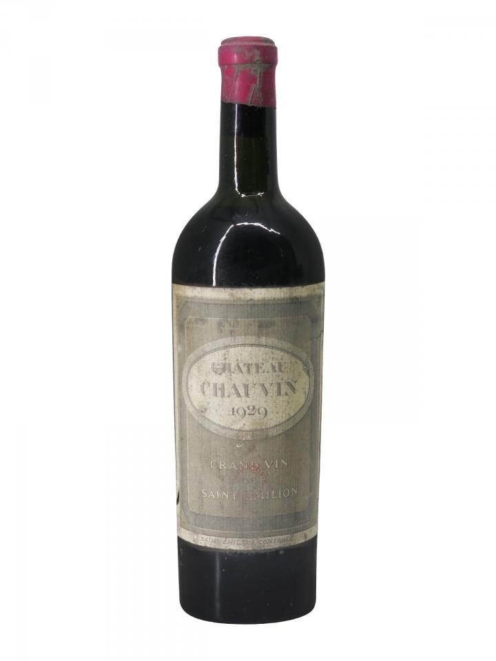Château Chauvin 1929 Bottle (75cl)