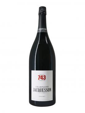 Champagne Jacquesson Cuvée n°743 Extra Brut Non vintage Original wooden case of one jéroboam (1x300cl)