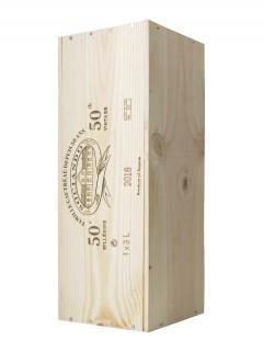 Château Sociando-Mallet 2018 Original wooden case of one double magnum (1x300cl)