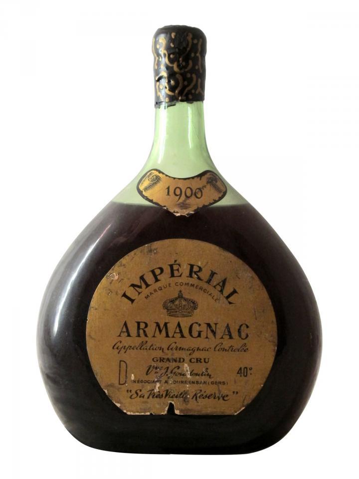 Armagnac Impérial Sa Très Vieille Réserve Grand Cru Veuve J. Goudoulin 1900 Magnum (150cl)