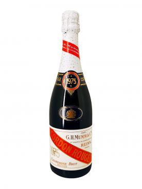 Champagne G.H Mumm Cordon Rouge Brut 1975 Bottle (75cl)