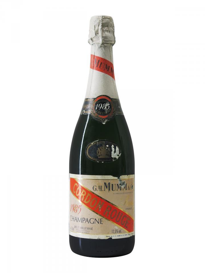 Champagne G.H Mumm Cordon Rouge Brut 1985 Bottle (75cl)