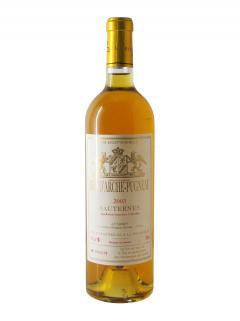 Cru d'Arche Pugneau Trie Exceptionnelle 2003 Bottle (75cl)