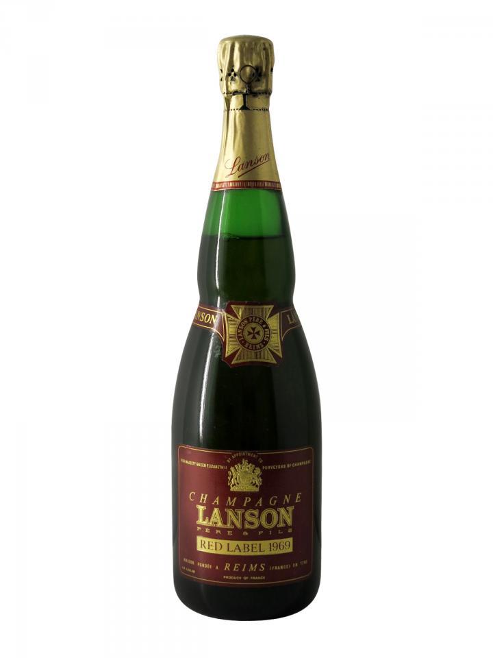 Champagne Lanson Red Label Brut 1969 Bottle (75cl)