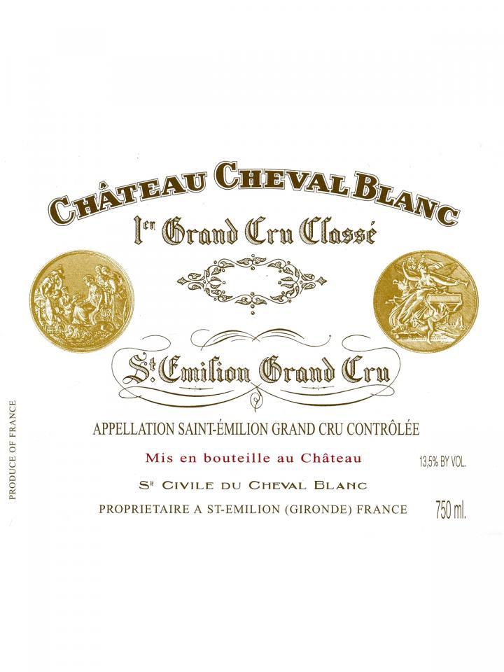 Château Cheval Blanc 2019 Original wooden case of one double magnum (1x300cl)
