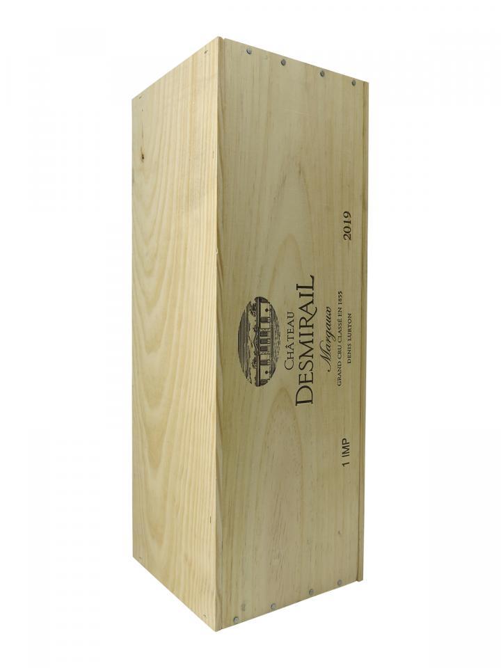 Château Desmirail 2019 Original wooden case of one impériale (1x600cl)